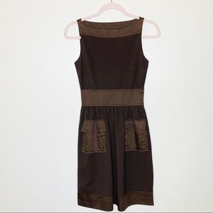 Diane Von Furstenberg Zanne Brown Dress Size 0